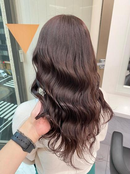 【✨9月限定クーポン✨】透明感フルカラー&髪質改善トリートメント 炭酸スパ付💫