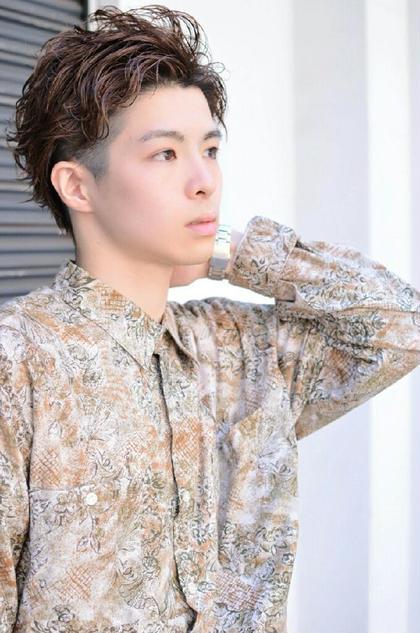 若松雅敏のメンズヘアスタイル・髪型