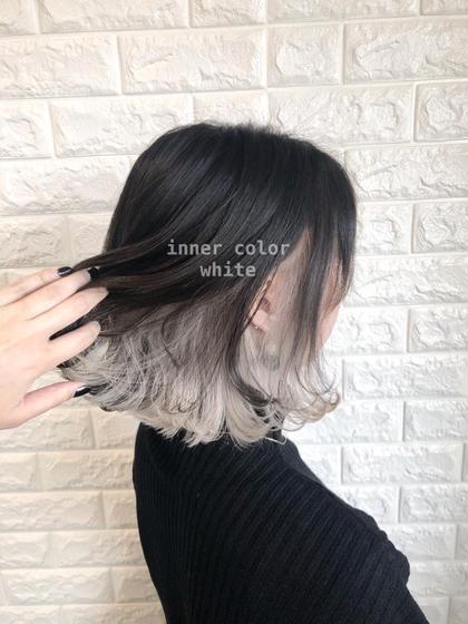 【新規・2回目以降】🌟チラッと見える色が可愛いインナーカラー