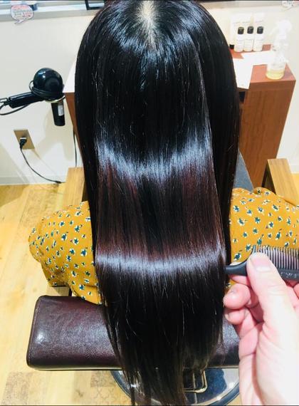 ▪️【髪を傷ませない予防美容】酵素カラー(ダメージ除去カラー)& ケアトリートメント