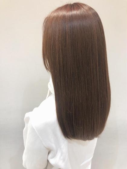 【✨話題の髪質改善✨】酸熱トリートメント+前髪カット