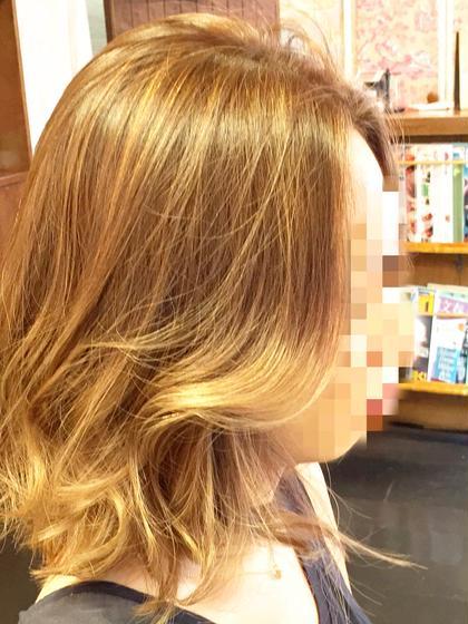 ☆ウィービングハイライトカラー☆ ☆外国人風グラデーション☆ MOF HAIR SALON所属・イチハラショウのスタイル