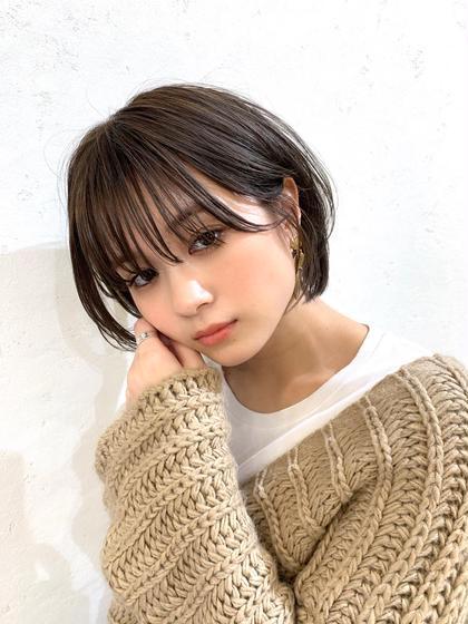 【🌈✨お手頃価格✨】小顔カット&集中補修ハホニコトリートメント&巻き髪仕上げ