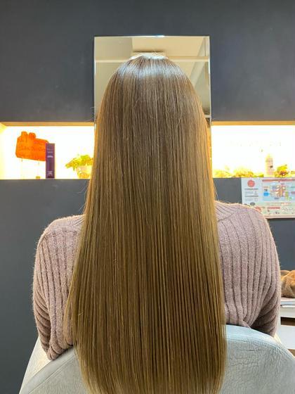カット+縮毛矯正