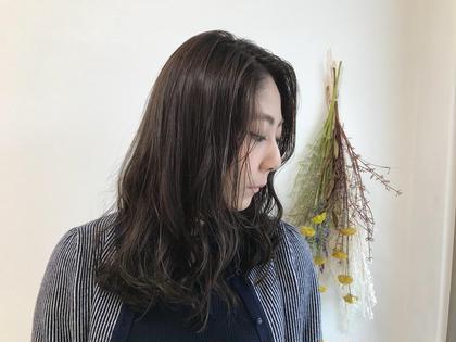 アディクシーカラーを使用した透明感があるアッシュ💕 MusebyKENJE所属・村田華菜のスタイル