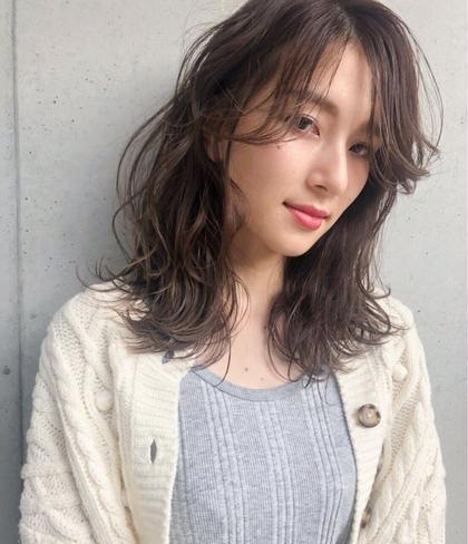 【手軽さNo.1☆形状記憶】カット & パーマ