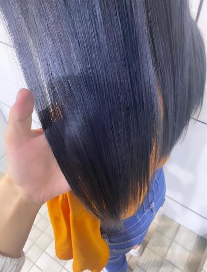 【毛先も整えてさらにツヤツヤクーポン♡】髪質改善トリートメント+切りっぱなしcut