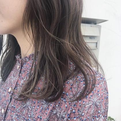 🍂つやつや抜群の秋冬透明感カラー『今年はくすみ系カラー』人気です😘❤️✨