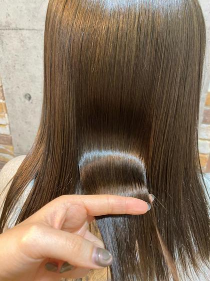 ✨SNSで話題💖髪質改善トリートメント✨(シャンプー・ブロー込み)
