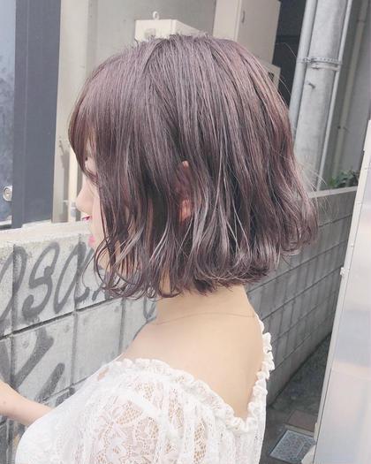 💚初回限定💚透け感カラー&トリートメント