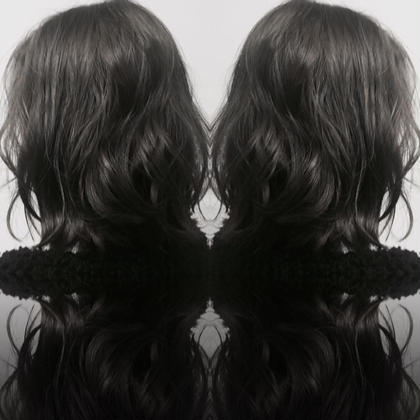 カラー 黒染めされてた髪の毛からのカラーです! ダブルカラーで赤みのない透明感を!