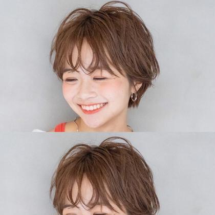 前髪パーマ(シャンプー&ブロー代別)