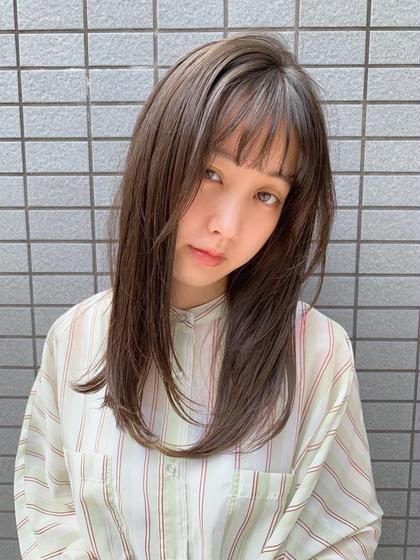 🌷【人気メニュー】カット+艶・高発色カラー