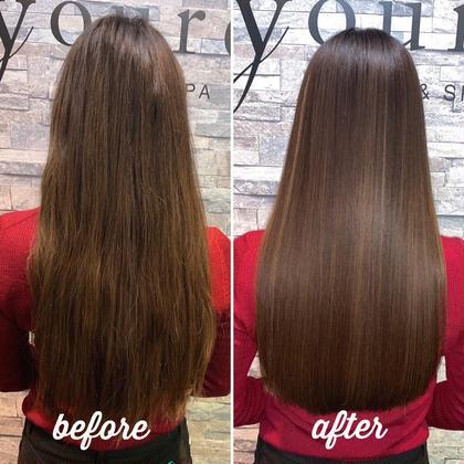 髪質改善水素ウルトワトリートメント❣️