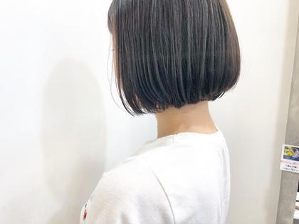 カット+縮毛矯正+オージュア