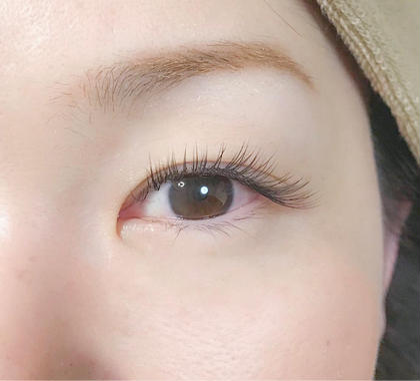 private eyelash salon chick所属の多久島由佳のマツエクデザイン