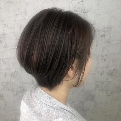 【髪質改善🌈ショート】カラー&oggi ottoトリート