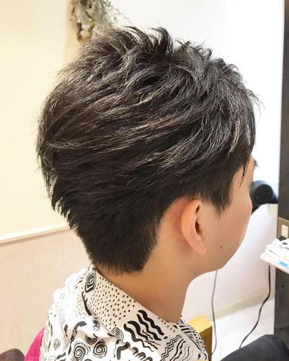 清潔感のあるメンズツーブロック✂️ Steadia所属・✨髪質ケア✨エビスシンゴ✨頭皮ケア✨のスタイル
