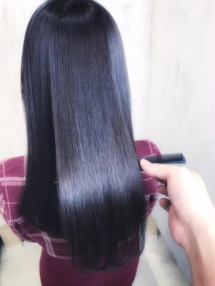 🌟憧れのツヤ髪ストレート🌟(髪質改善ジュエリーシステム矯正) + 似合わせカット + トリートメント
