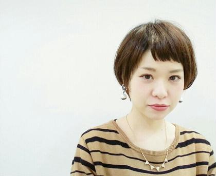 おしゃれなショートバング☆ ALGERNON retreat所属・稲田真美のスタイル