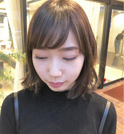 【#アオハル】前髪カット