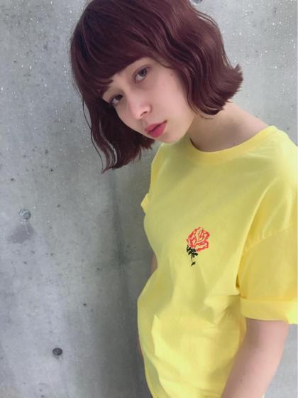 ミディアム ピンクアッシュ☆☆