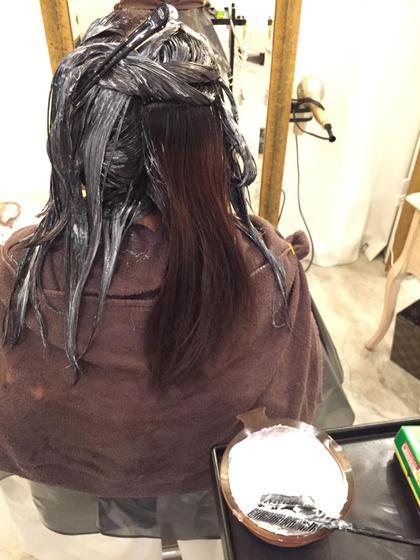 ロング ラムデリカのカラー剤は傷まないし、色が長持ちします!!!