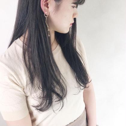 🌟髪質改善🌟お顔周りのみ縮毛矯正+カット💗クセは気になるけどダメージが心配な方にオススメ!