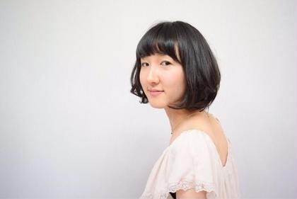 ふんわりボブ  松本平太郎美容室土浦店所属・中根一のスタイル