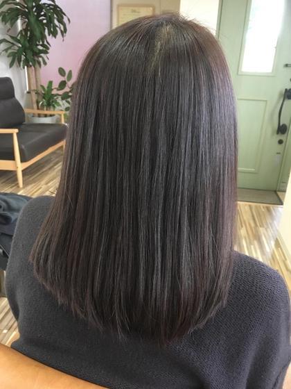 美髪チャージトリートメント ナグモ美容室所属・小林秀子のスタイル