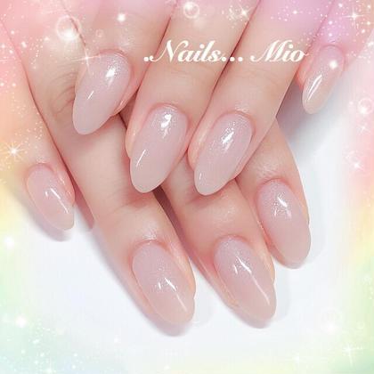 自爪の方超人気💅美爪ピンクスキンカラー