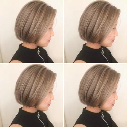 🌸初回限定クーポン☺️前髪カット💇☆外国人風ホワイトケアブリーチカラー