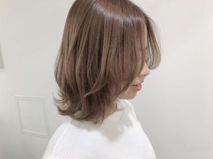 【🍃限定価格🍃】前髪カット+カラー+TOKIOトリートメント