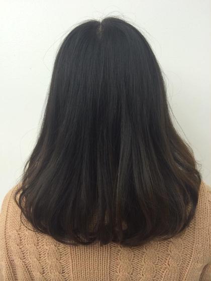 ワンレンベースで毛先の重さをとった スタイル 毛先ワンカール巻いただけですごくフワッとした感じになります(*^_^*) CAPA茅ヶ崎所属・本間修人のスタイル