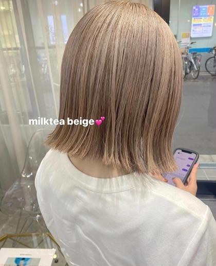 🌟10月限定特価クーポン!🌟カット+カラー+髪質改善トリートメント🧡12000→5980