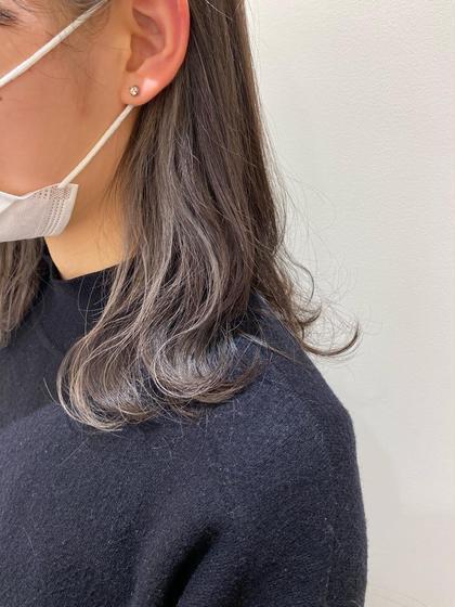 🧡minimo限定🧡カット+インナーカラー+全体カラー+髪質改善トリートメント