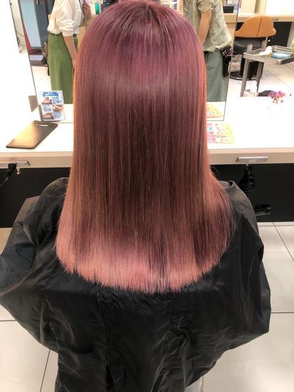 🌺【芸能人も愛用💋色持ちup❤︎】髪質改善トリートメント🌺