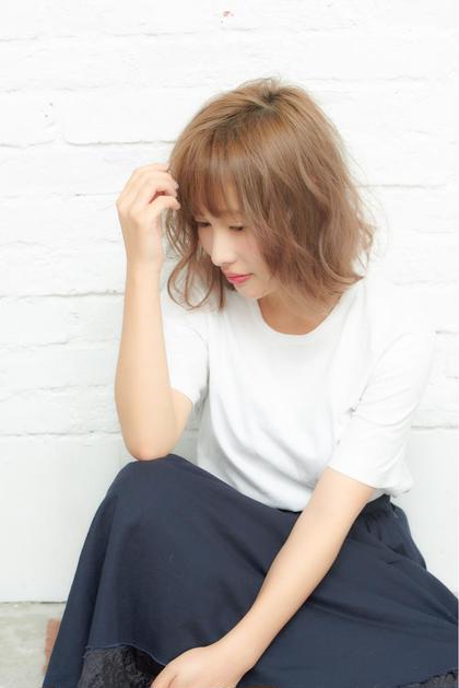 《ご新規様限定オーガニック艶カラー(リタッチ)+カット》