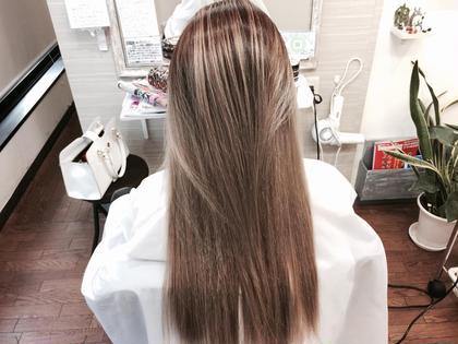 グラデーションカラー Angel所属・hairsalonAngelのスタイル