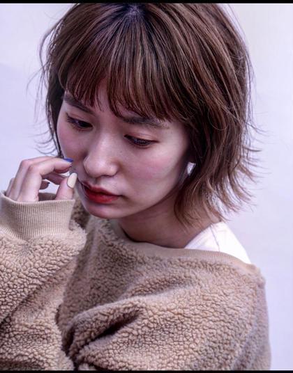 【♡minimo限定⭐︎ボブスタイル&似合わせカラー&プチトリートメント】