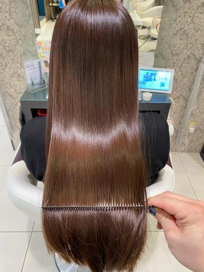 三重県初‼️髪質改善ASIAトリートメント+超音波アイロン