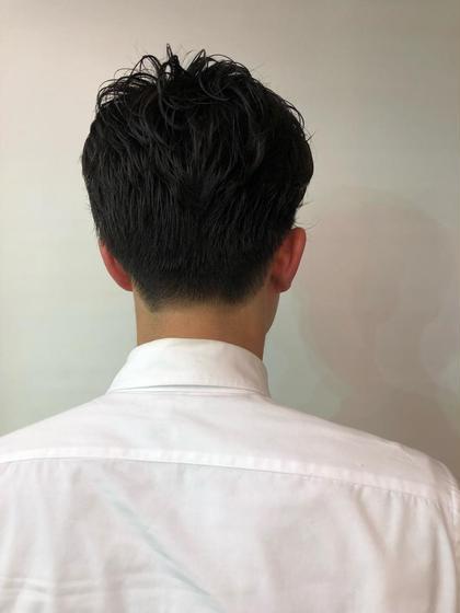 メンズ 短髪カットお任せください