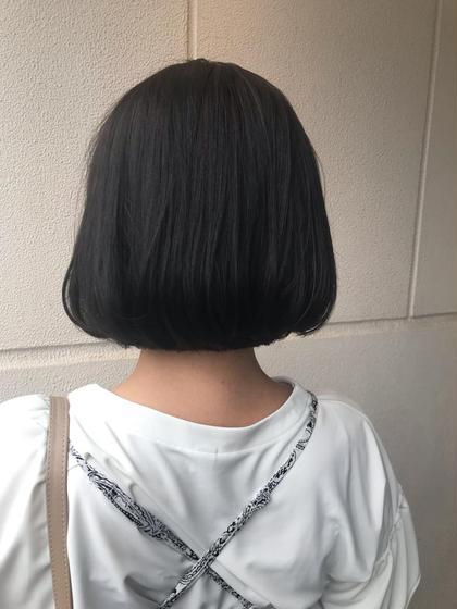 【髪質改善メニュー✌️✌️✌️✌️】カット+ストレート縮毛矯正+アイロン+ブロー