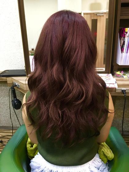 夏にオススメのピンク(^ ^) 艶感バッチリです♪ Hair Salon Be-one所属・佐々木洋輔のスタイル