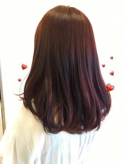 赤髪 秋カラー❤️❤️  ツヤ感もアップしますよ! KENJE平塚LUSCA所属・KOBAYASHIKANAのスタイル