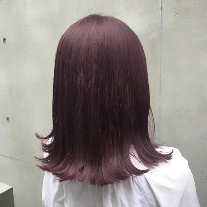 江口なつみのミディアムのヘアスタイル