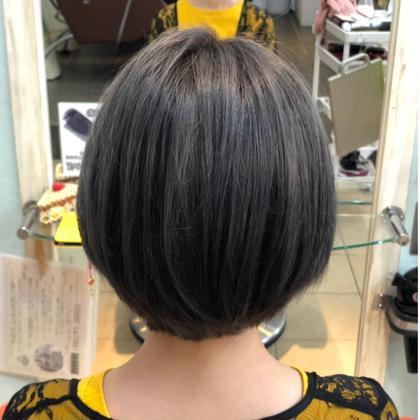 ダブルカラーグレー☆ aptWEST所属・大山結楓のスタイル