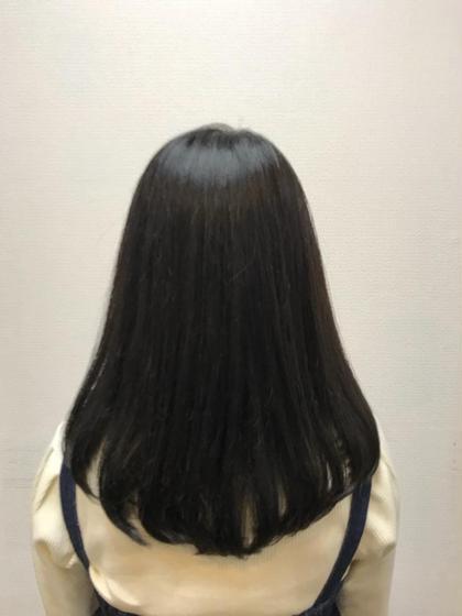 デザインカット & お悩み解消フェイスライン縮毛矯正