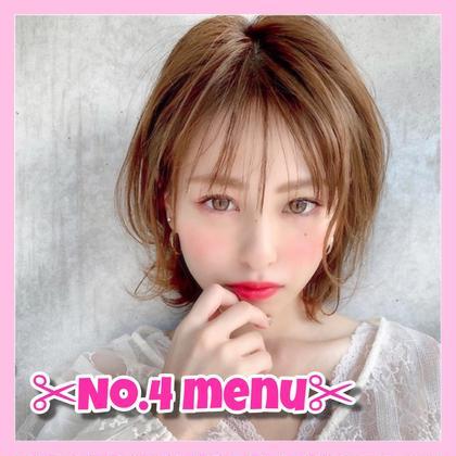 🦄✨人気No.4✨🦄ブリーチ➕透明感カラー➕クイック補修トリートメント➕炭酸SPA➕コテ巻き♡