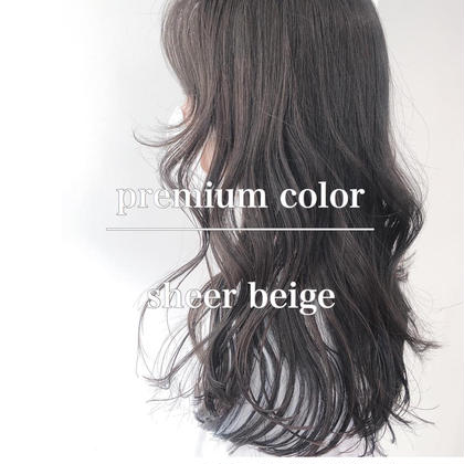 💖本日限定キャンペーン💖❤️似合わせ前髪カット❤️➕透明感モテカラー➕THEATERtreatment✨